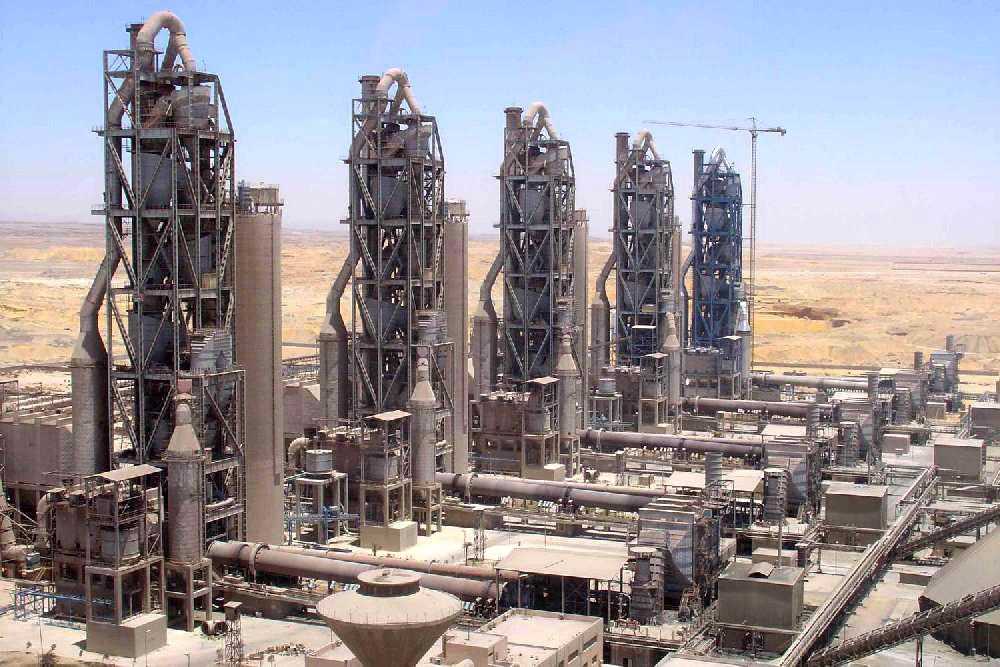 河南活性石灰生产线现场