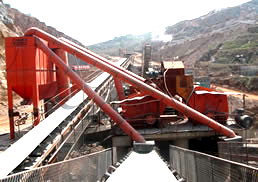 贵州水泥生产线现场
