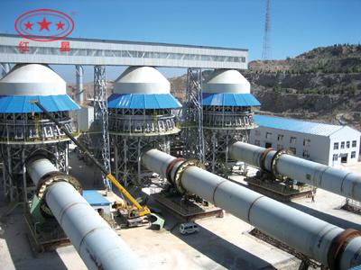 活性石灰生产线工艺流程